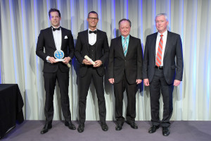 "Deutschland, Berlin. Date: 11.11.2015 OSPAs Galaabend in der ""Kalkscheune"" Berlin Mitte. Outstanding Security Performance Awards 2015."